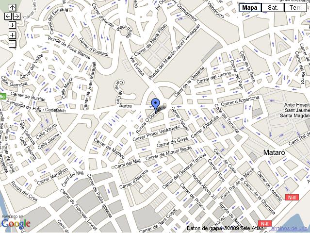 Localització MEM