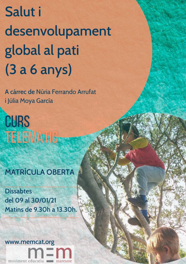 Salut i desenvolupament global al pati (3 a 6 anys)